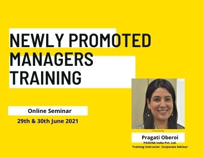 NEWLY PROMOTED MANAGERS TRAINING